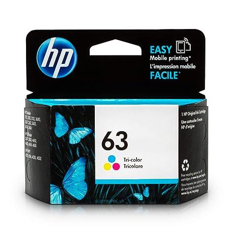 Amazon.com: HP 63 cartucho de tinta tricolor original ...