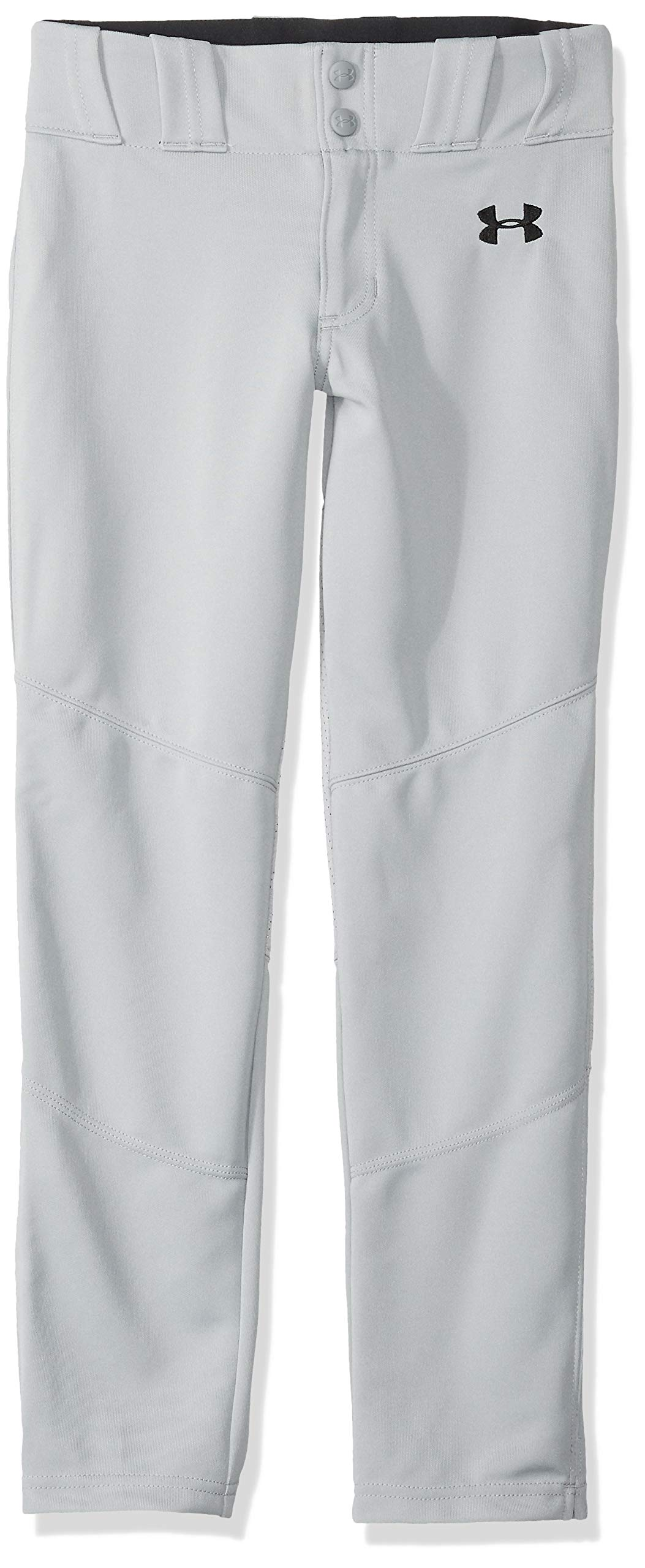 Under Armour Ace Relaxed Pants, Baseball Gray//Black, Youth Medium by Under Armour