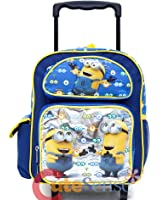 Amazon.com | Despicable Me Minions Rolling Backpack | Kids' Backpacks