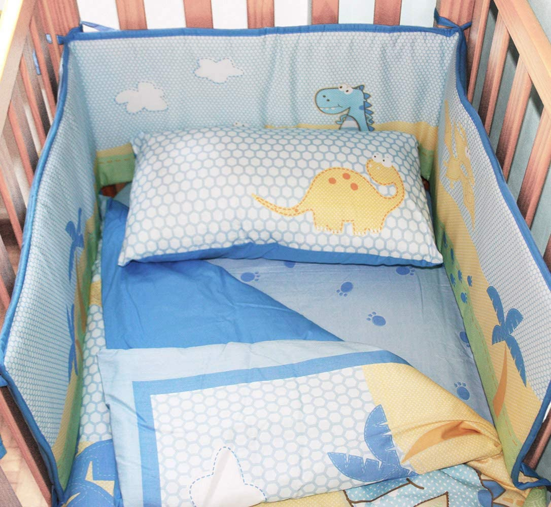 chichoneras cuna 60x120 ropa camas de beb/é algod/ón acolchado protector para bordes 180 x 30 Gris chichonera cuna protector de cuna 120x60 bebe
