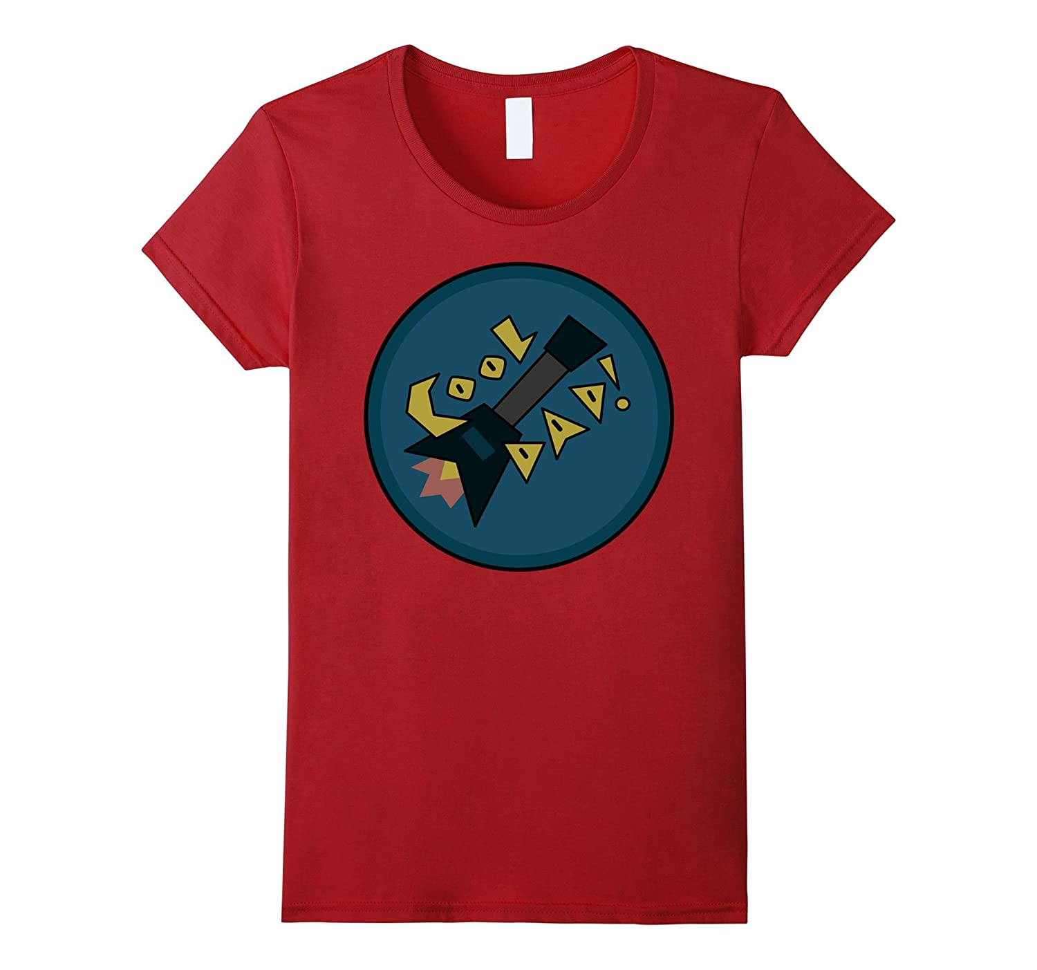 CN Steven Universe Cool Dad Guitar Graphic T-Shirt
