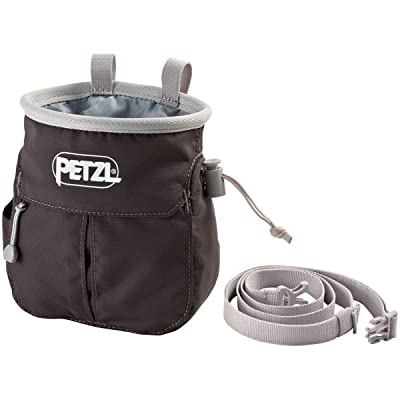 PETZL Sakapoche Chalk Bag, Unisex, S040AA00, Grey, One Size