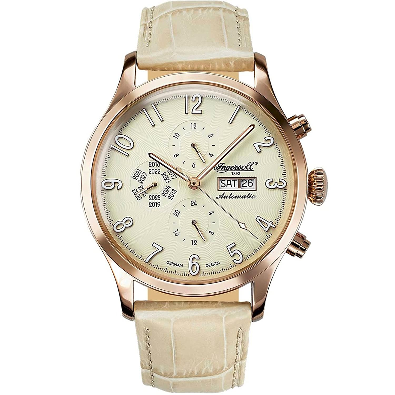 Ingersoll 腕時計 Fairbanks 自動巻き(手巻き機能あり) カレンダー メンズ IN1416YL [並行輸入品] B0728CDL12