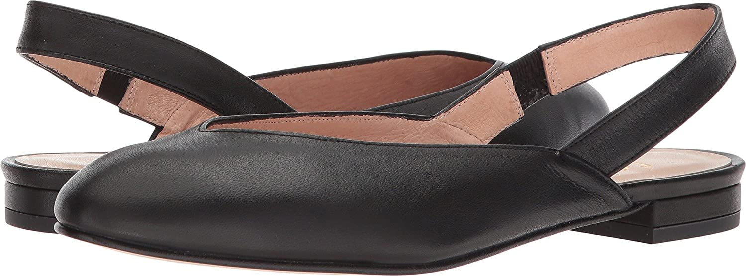 French Sole Womens Breezy B076NWPHD6 6 B(M) US|Black Softy Calf