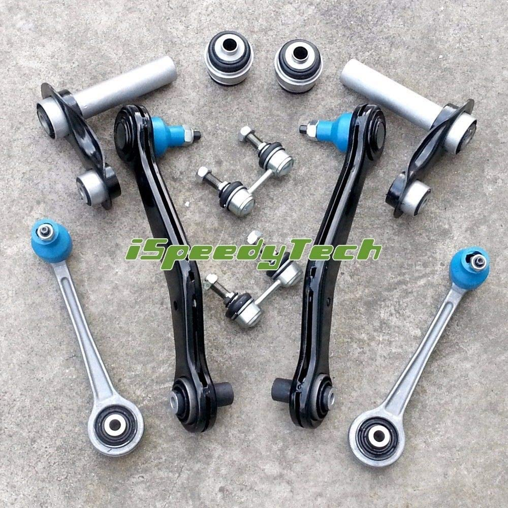 FOR BMW X5 3.0 4.4 4.6 4.8 Front suspension wishbones arms links ball joints kit