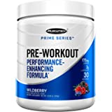 Muscletech Pre Workout Powder for Men/Women, Enhanced Energy Supplement for Better Workouts, Wildberry, 30 Servings (303g) - Amazon Exclusive