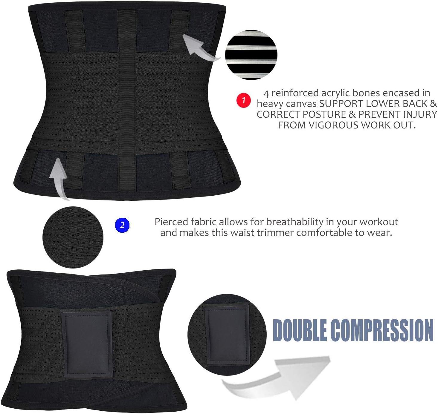 ChongErfei MQC04-BK-M Black Medium 27.7-31.5 Waist