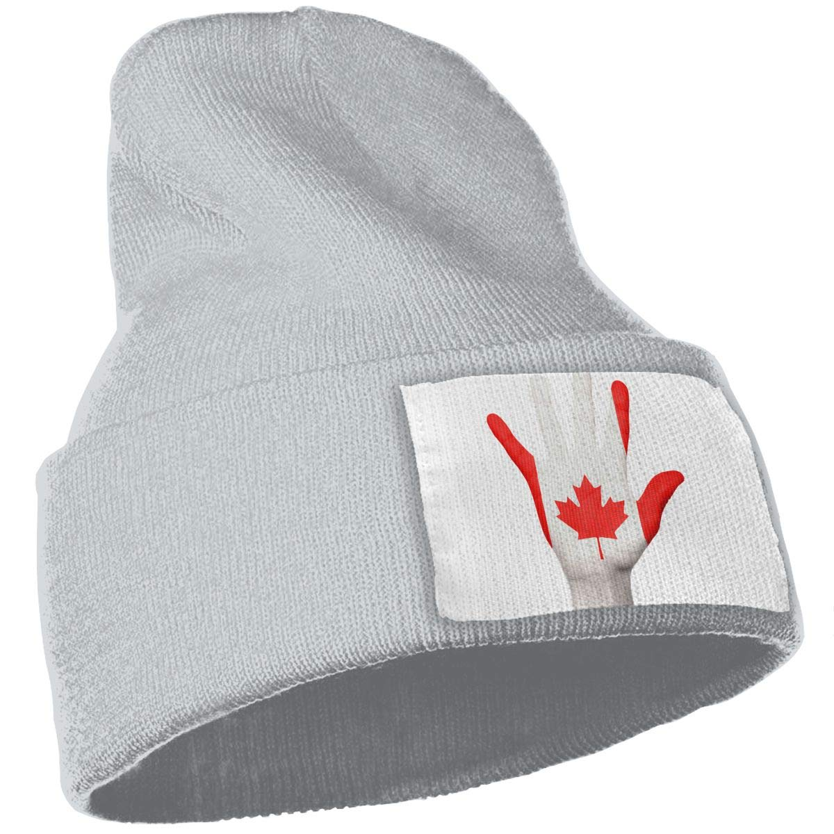 Canada Flag Canadian Maple Leaf Unisex Fashion Knitted Hat Luxury Hip-Hop Cap