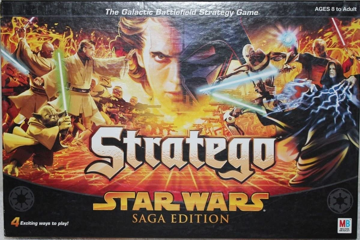 Stratego Star Wars Saga Edition by Milton Bradley: Amazon.es ...