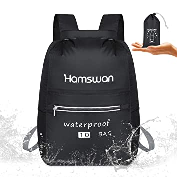 Amazon.com: Hamswan - Mochila impermeable para kayak ...