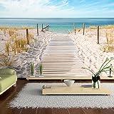 apalis fototapete strand an der nordsee vliestapete breit vlies tapete wandtapete wandbild. Black Bedroom Furniture Sets. Home Design Ideas