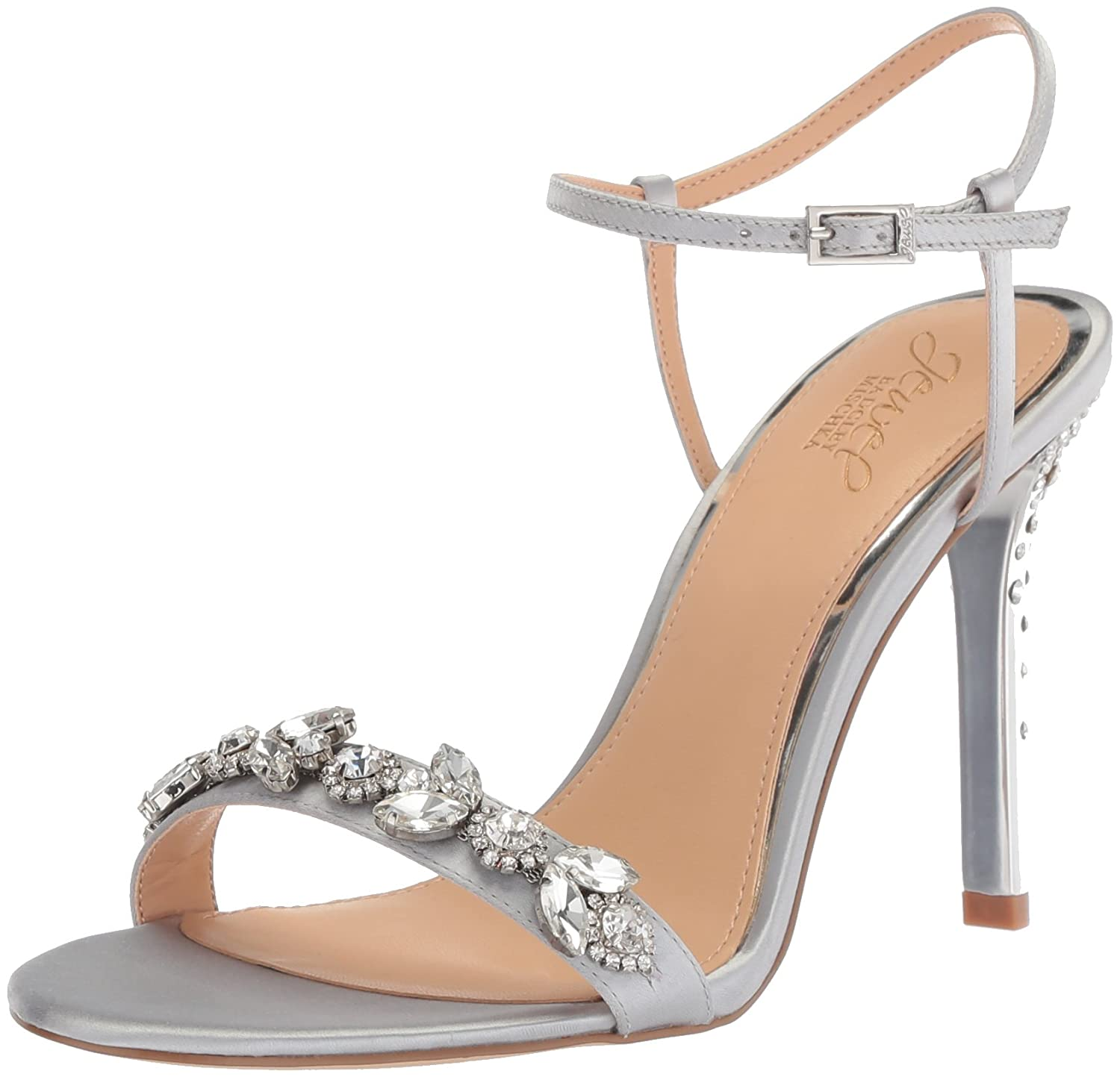 Badgley Mischka Jewel Women's Tex Heeled Sandal Jewel Badgley Mischka JW2314