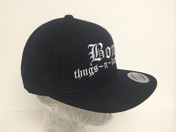 80ba6b951ed Amazon.com   Vintage Bone Thugs N Harmony Snapback Hat   Sports   Outdoors