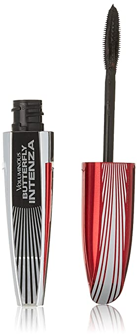 48c15228955 Image Unavailable. Image not available for. Color: L'Oréal Paris Voluminous  Butterfly Intenza Washable Mascara, Blackest Black ...