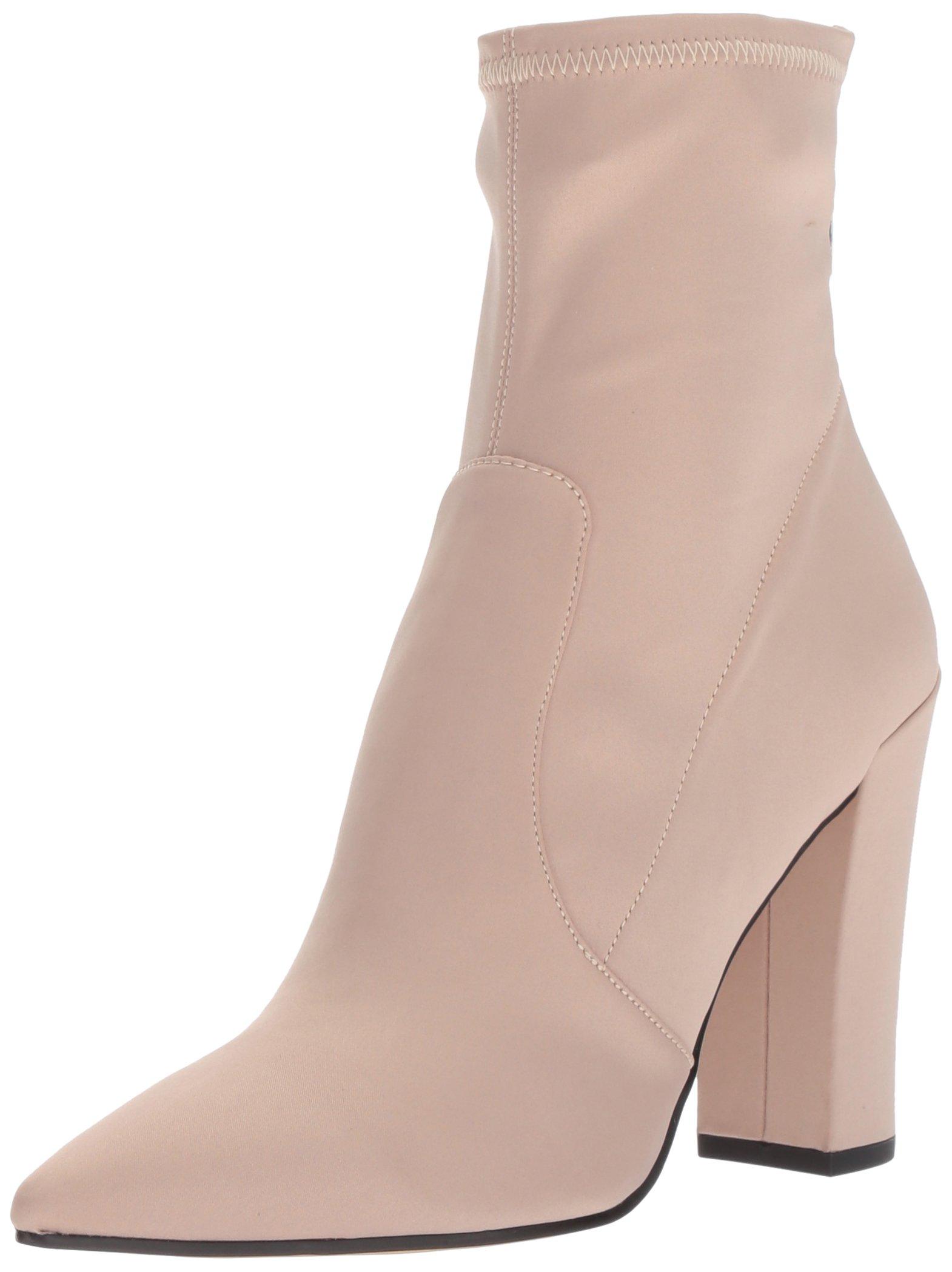 Dolce Vita Women's Elana Ankle Boot, Rose Satin, 7.5 M US