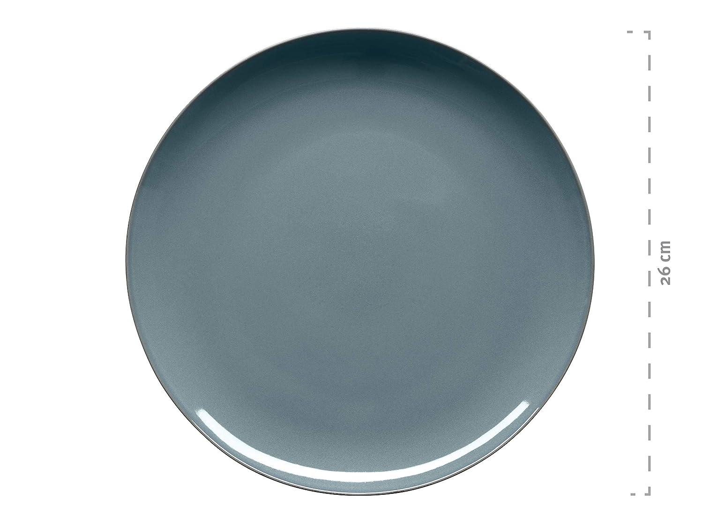 gris M/äser 931238/Service de table 20/pi/èces vert bleu