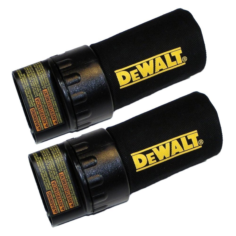 Dewalt D26456/D26441K/DW26451K Sander Replacement (2 Pack) Dust Bag # 624307-00-2pk by BLACK+DECKER
