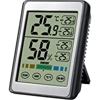Hygrometer Thermometer, SOFER Digital Hygrometer Indoor Thermometer Room Humidity Gauge with Battery, Temperature…