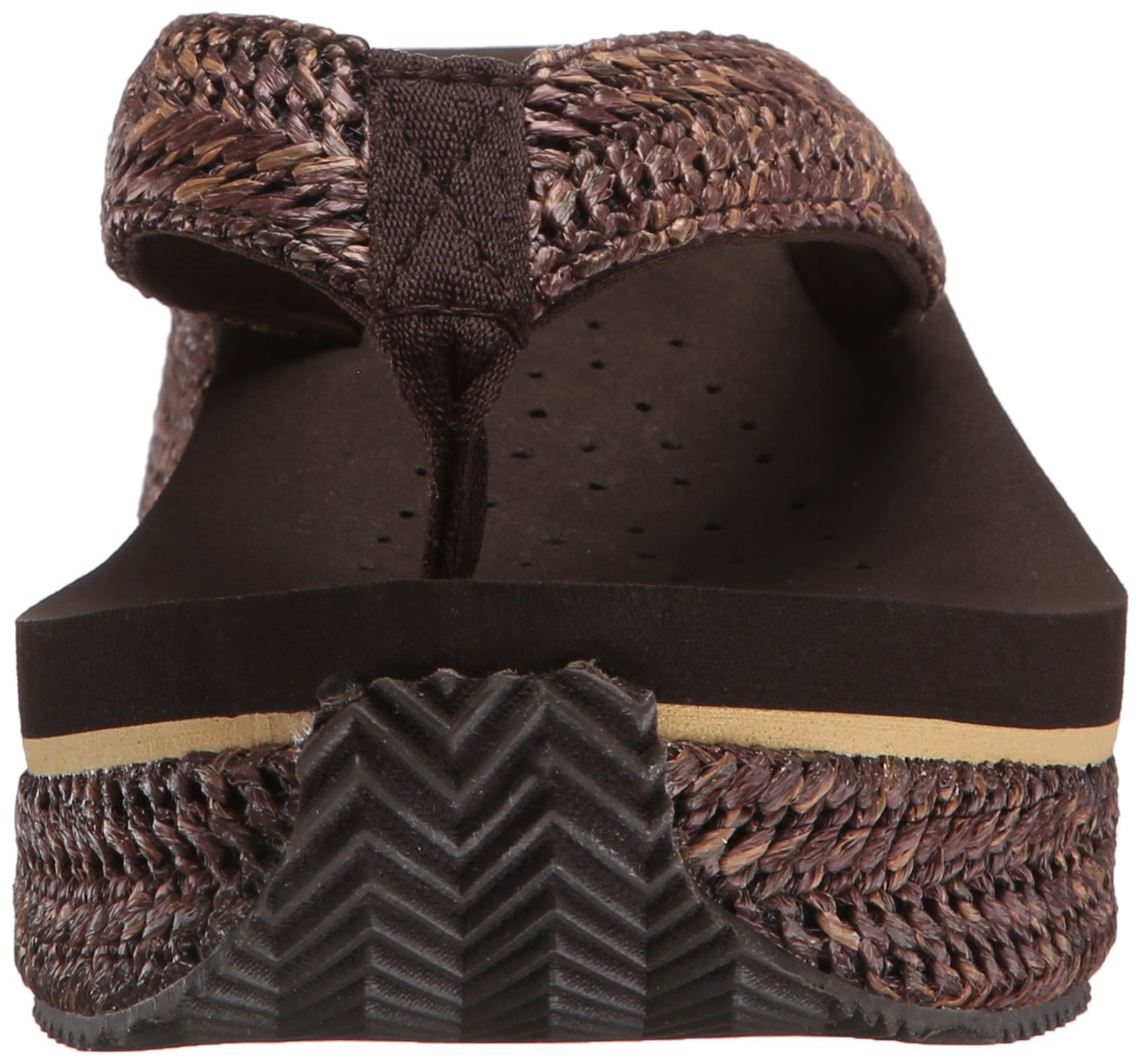 Volatile Women's Marine Wedge Sandal B00Y5JF4ZS 9 B(M) US|Brown