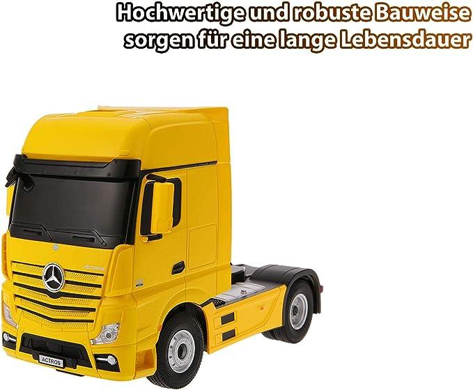 RC Camion Mercedes Actros Benne Avec Kipp-Fonction 50 cm à distance 2,4ghz 50081