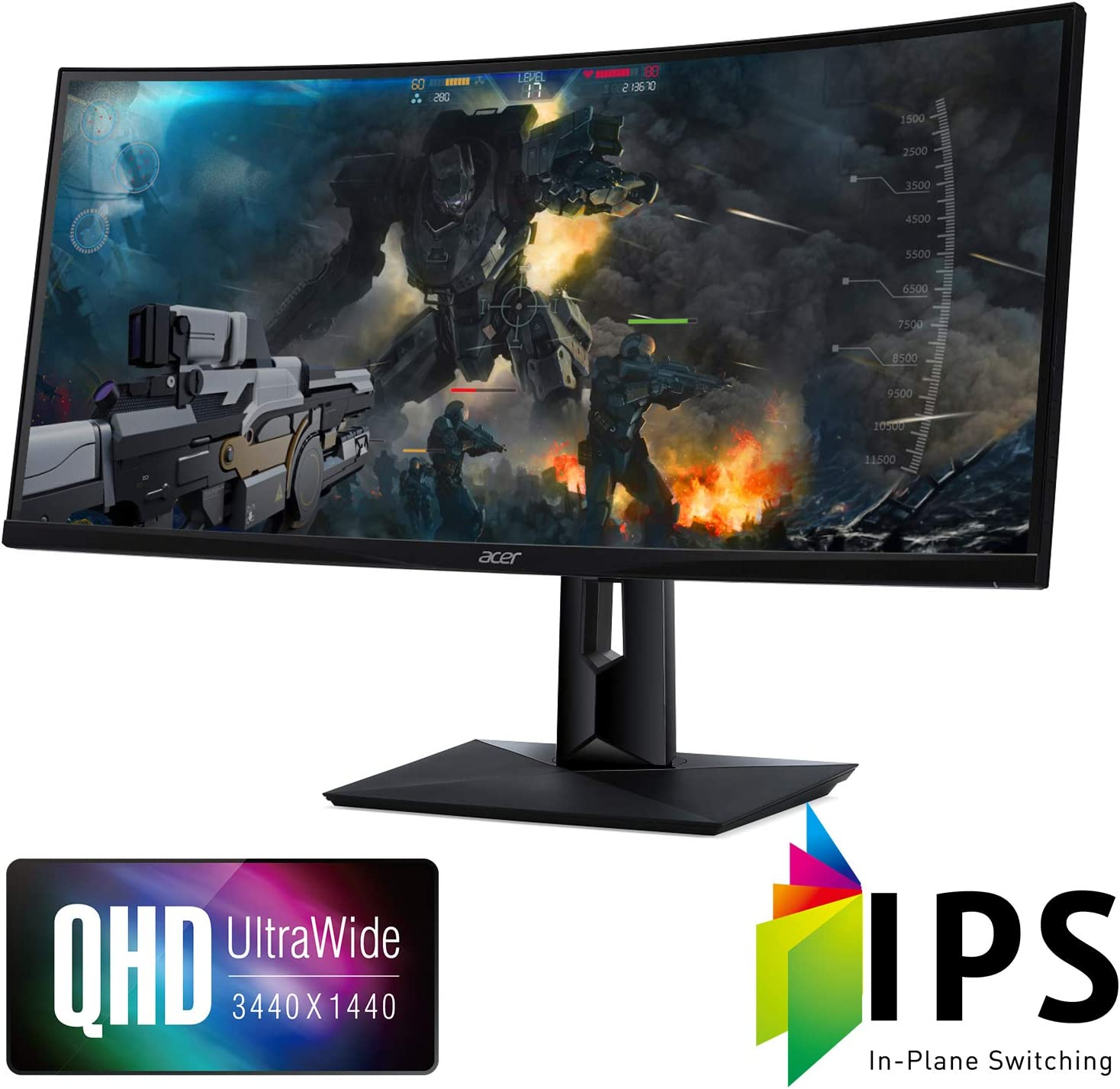 "Acer CZ340CK bmiippphx 34"" Curved Gaming Monitor Review"