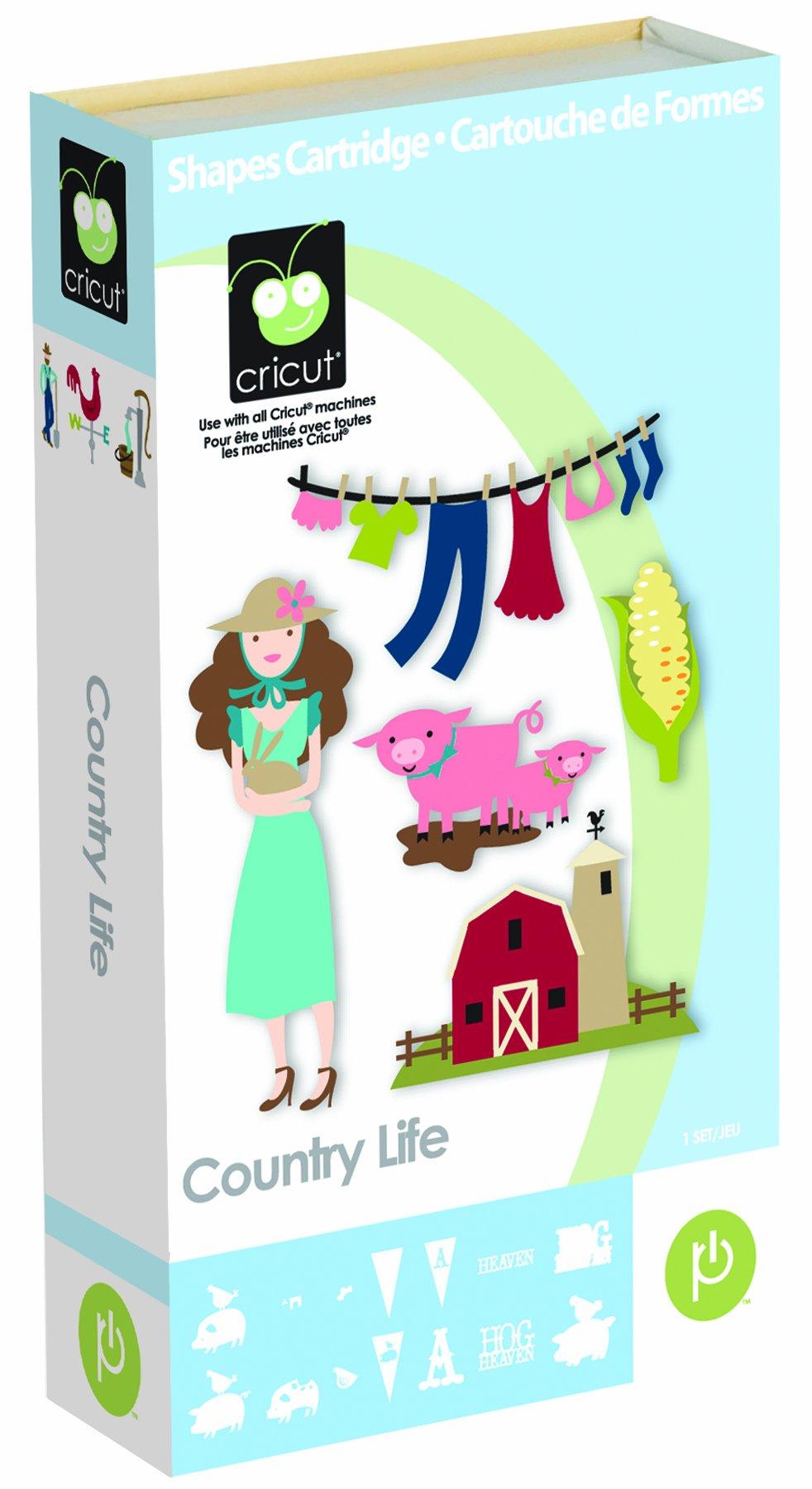 Cricut Country Life Cartridge product image