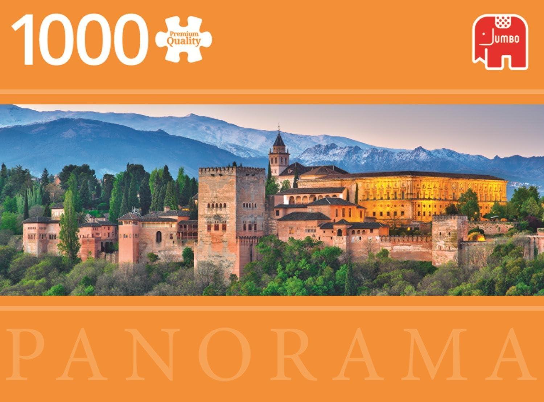 Jumbo pcs Panorama Alhambra, Spain, Puzzle de 1000 Piezas (618574 ...