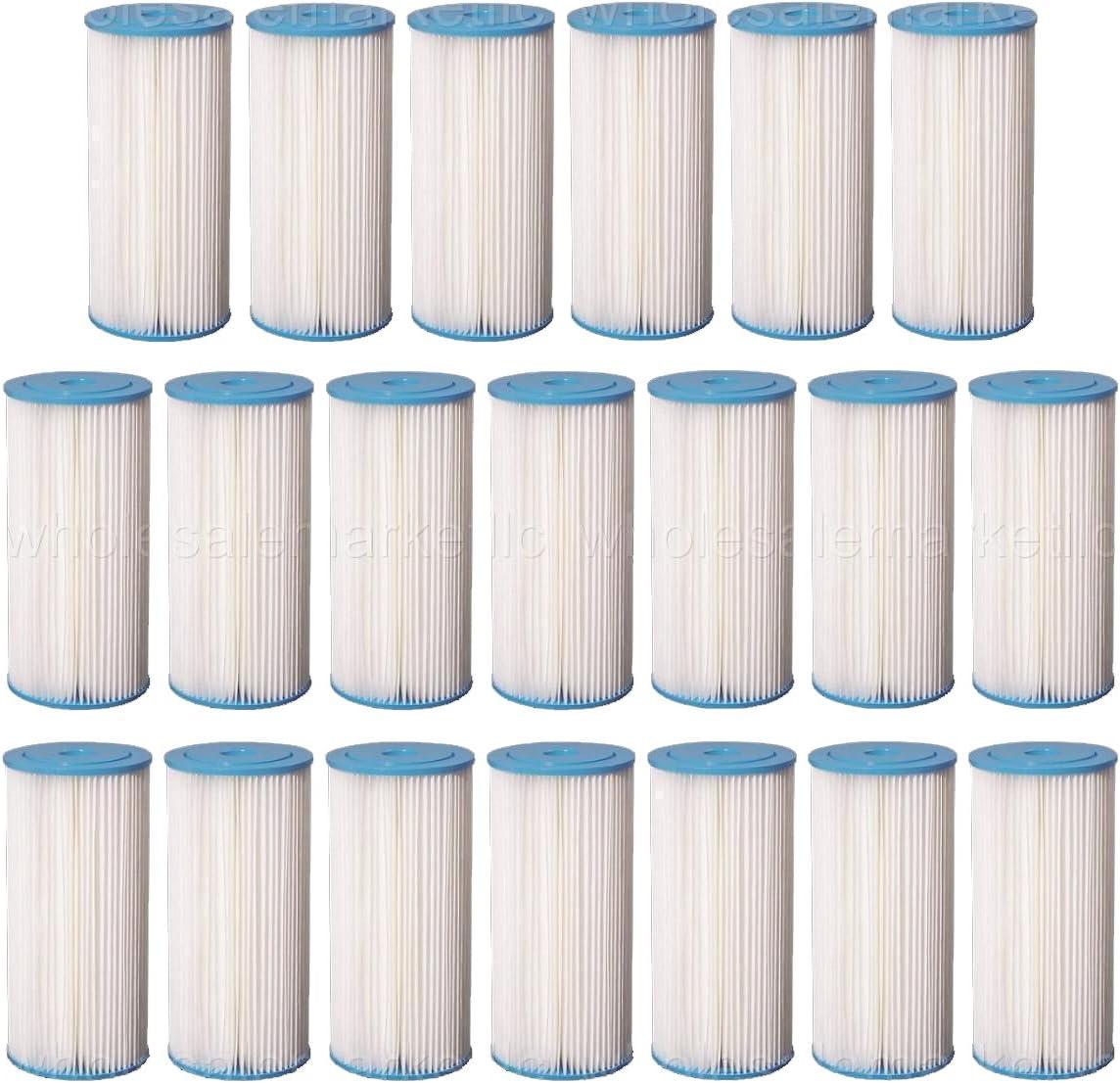 Big Blue Pleated Sediment Water Filters 20 Washable 4.5 x 10 Cardridges 5 Micron
