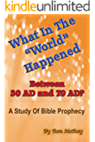 What In The World Happened Between 30 AD & 70 AD?: A Study Of Bible Prophecy