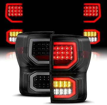 Fits Tundra Black *Full LED* Reverse Turn Signal Taillights Lamp Pair 2007-2013