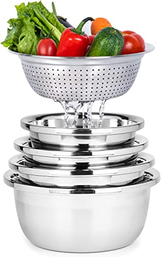 ALPS 304 Stainless Steel Mixing Bowls