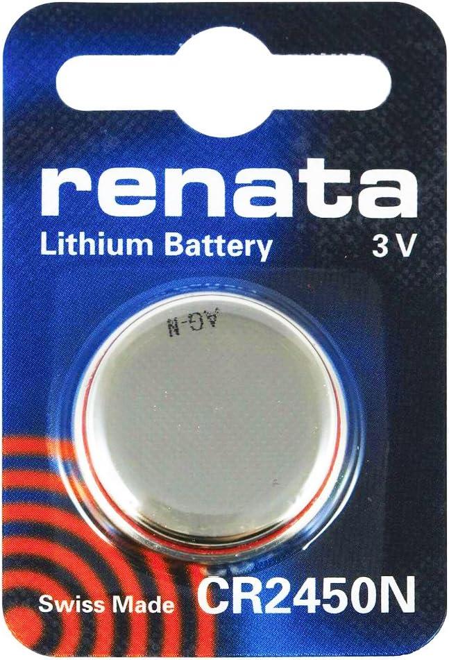 Renata Batterie Cr2450 Silber Stück 1 Elektronik