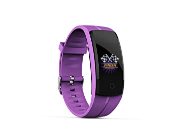 ZEERKEER Fitness Tracker Reloj Inteligente Mujer Hombre con GPS,Monitor de Ritmo Cardíaco,Podómetro