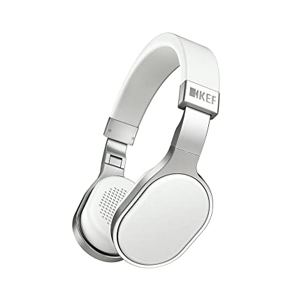 ce79c7a58af Amazon.com: KEF M500 Hi-Fi On-Ear Headphones - Aluminum/White: Electronics