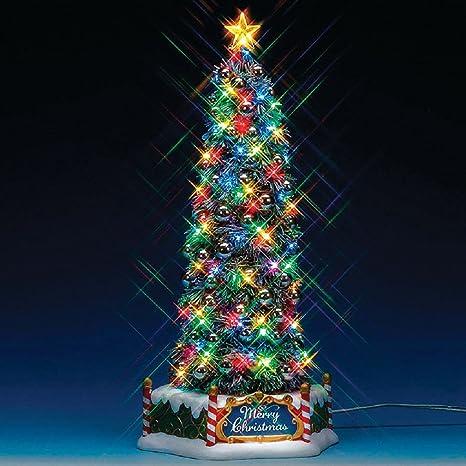 Immagini Di Alberi Di Natale Addobbati.Lemax Albero Di Natale Addobbato New Majestic Christmas Tree 84350