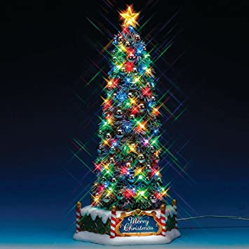 Lemax 84350 - New Majestic Christmas Tree - Neu 2018 ...