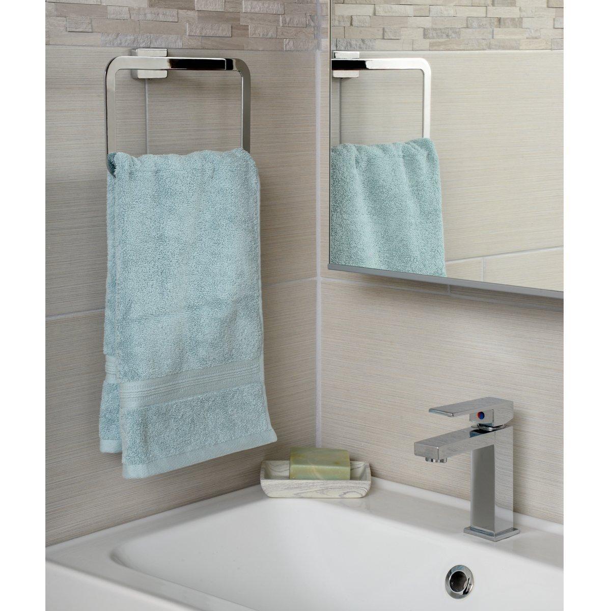 Chrom poliert Euro-Toilettenpapierhalter Basics