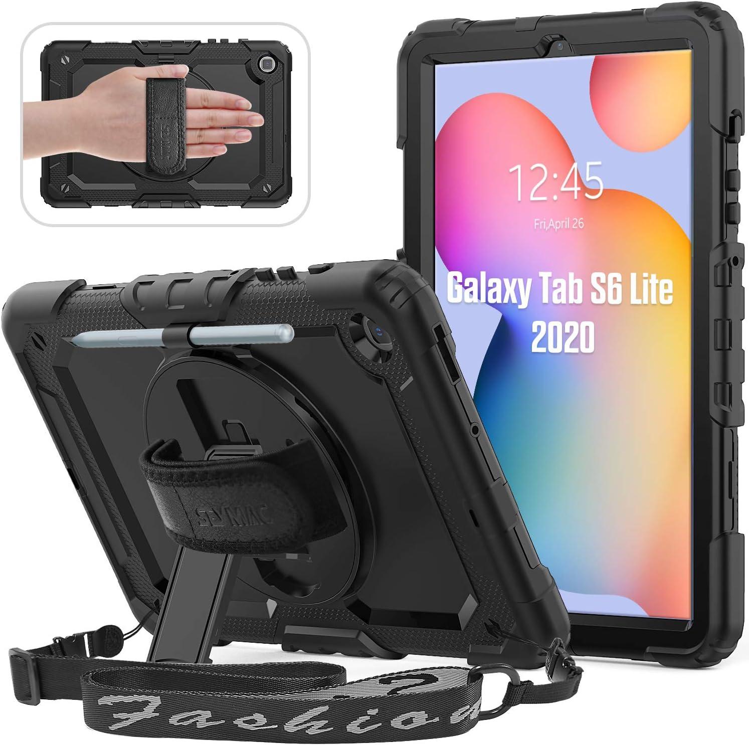 Seymac Hülle Für Samsung Galaxy Tab S6 Lite 10 4 Zoll Computer Zubehör