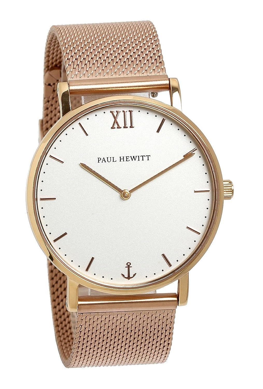 [ポールヒューイット]Paul Hewitt 腕時計 ウォッチ ローズゴールド メッシュベルト 39mm レディース [並行輸入品] B071YP5337