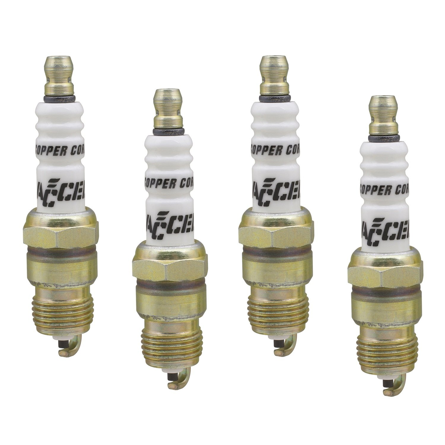 ACCEL 0576S-4 Shorty Copper Core Spark Plug, (Pack of 4) by ACCEL
