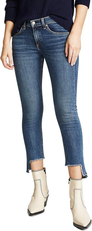 Rag & Bone/JEAN Women's Cate Mid Rise Ankle Skinny Jeans