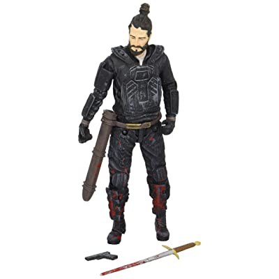 "McFarlane Toys The Walking Dead Comic Series 4 Paul ""Jesus"" Monroe Action Figure: Toys & Games"