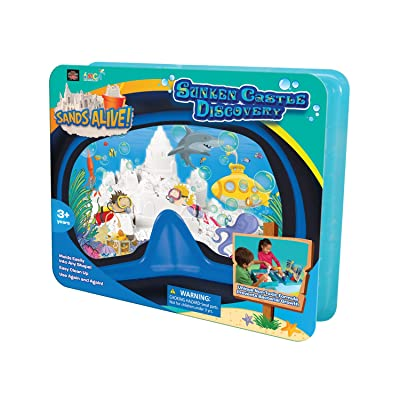 Play Visions Sands Alive! Sunken Castle Discovery: Toys & Games
