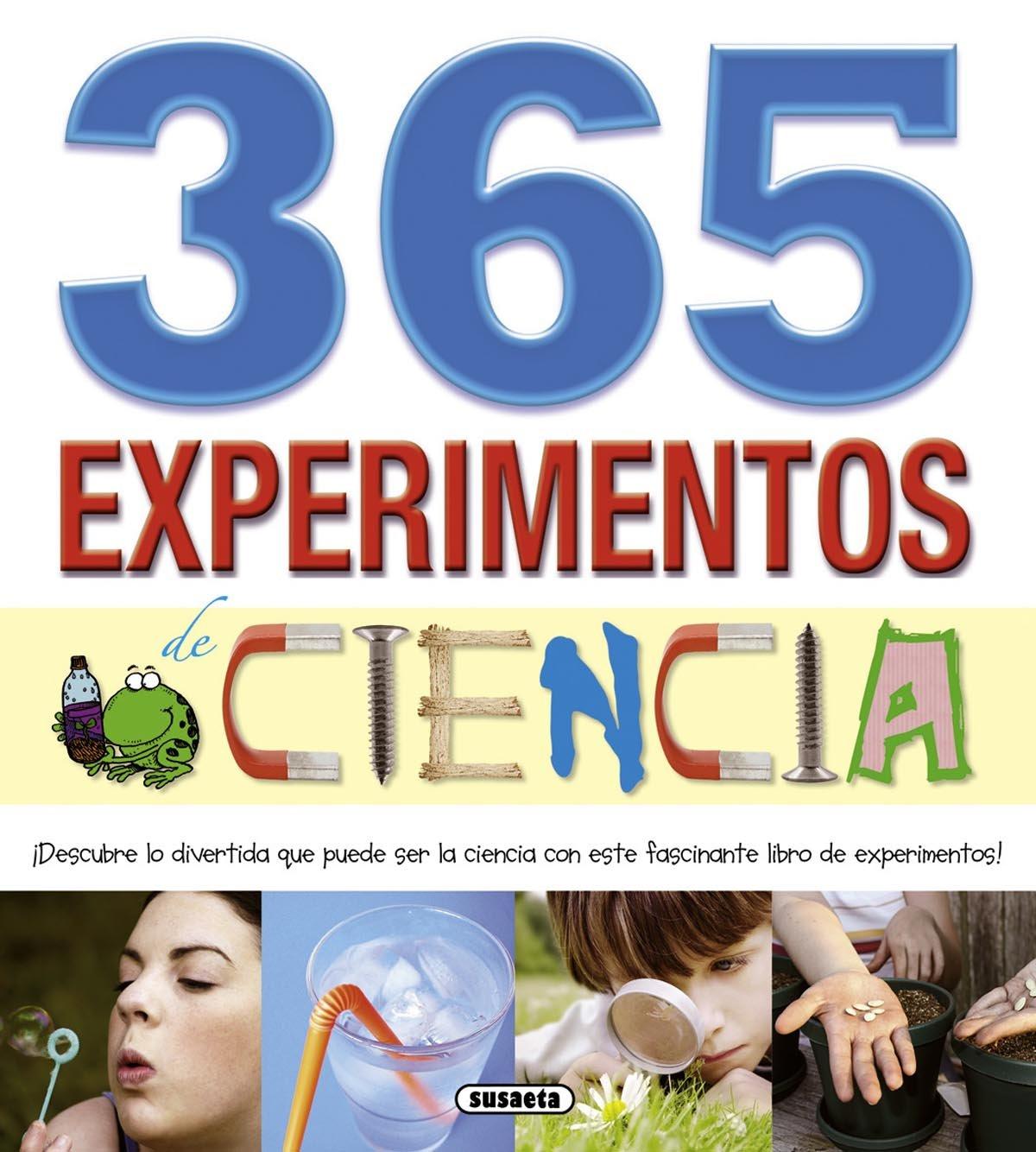 Resultado de imagen de 365 experimentos de ciencias.