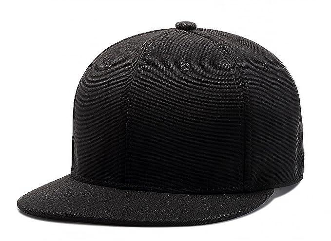 80611659889 Amazon.com  TESOON Plain Blank Flat Bill Adjustable Hip Hop Snapback ...