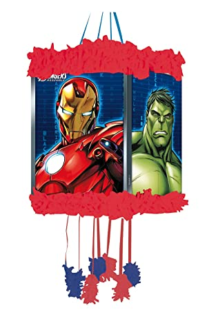 Los Vengadores - Piñata viñeta, 20x30 cm (Verbetena 014300052)