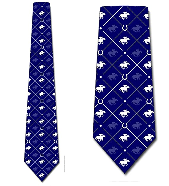 c32bbaaea8f5 Image Unavailable. Image not available for. Color: Animal Ties Mens  Equestrian Sports Horse Necktie by Three Rooker