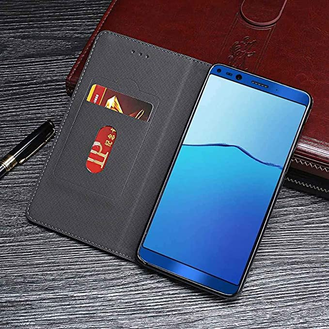 Amazon.com: Case for Doogee Mix 2, PU Leather Stand Wallet ...