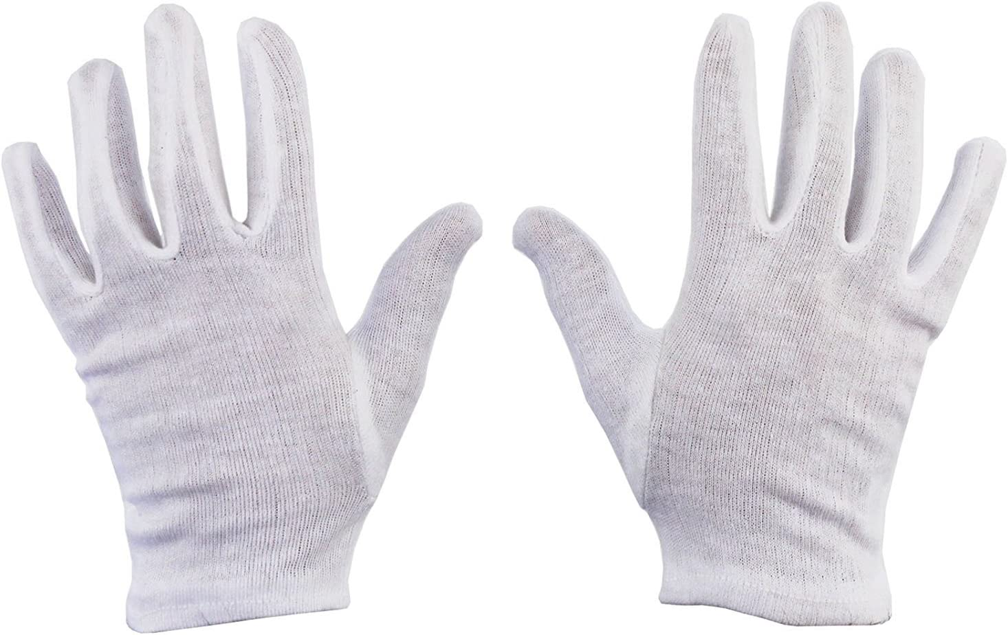 under boxing Gloves top quality 12 x  pairs  White Cotton extra long 25 cm