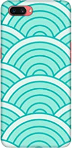 Stylizedd Oppo A3s Slim Snap Basic Case Cover Matte Finish - Green Arch
